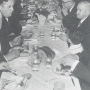 Dreikönigs-Imbs 1972 mit dem Ehrenvorsitzenden Adam Englerund Dirigenten Manfred Monzel
