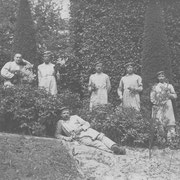 Heinrich Linnenfelser, 2. von rechts