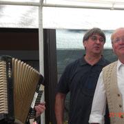 """""""Minnesänger"""" 2012, Dirigent Heinz Hoffmann, Alfons Seithel, Arthur Röther"""