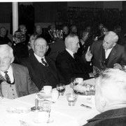 Altennachmittag: v.l. Jakob Weber, Stefan Schmitt, Otto Seeber, Engelhard Koch, Anton Adam,