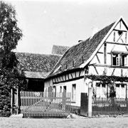 Haus von Franz Hoffmann, Wässerschütz, später Schneider, Weihergasse 32