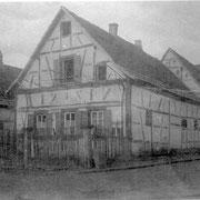 Haus von Nebel, heute Gäustraße 32, in der 20er Jahren abgerissen