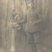 Adam Franz im I. Weltkrieg