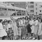 Klassenfahrt der Mädchen ca. 1947
