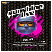 """sunshine live Vol. 55 - Incl. """"Bailout"""" and online DJ Mixes by Chico Chiquita"""