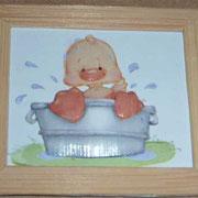 Patito bañándose. 4 láminas. 13€