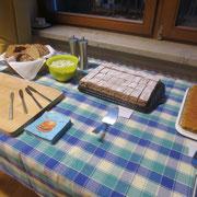 Gesunde Kuchen mit Möhren und Buchweizen