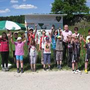 Gruppenbild mit Herrn Uhr, AOK Bereichsleiter Amberg (3. von rechts)