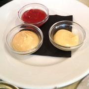 Mayonnaise, ketchup et moutard de Ma Cocotte