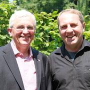 Ab 1. April 2011 ein starkes Team: Präses und Generalsekretär