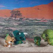 kleiner Triceratops nach Nicole Nitsche, Rest nach Jennifer Hillebrand