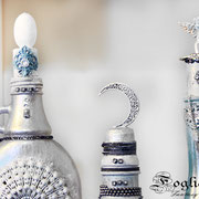Shabby Altered Bottles