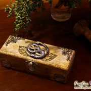 The neverending Story with auryn book and box