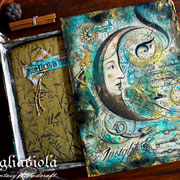 witch grimoire and magic box set