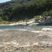 Amande - Badestellen am Gardon