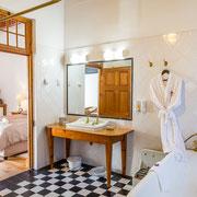 Doppelzimmer 'Bulbinella' - Badezimmer