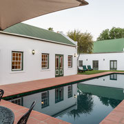 15m-Swimming Pool, Outside Breakfast Area and Breakfast Room