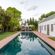 15m-Swimming Pool, Outside Breakfast Area and Breakfast Room