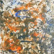 Sparkle, Mischtechnik auf Leinwand, 100 x 100