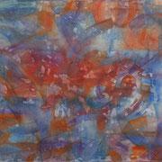 Empathie I, Mischtechnik auf Leinwand, 150 x 120