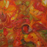 Joy, Acryl und Öl auf Leinwand, 170 x 120