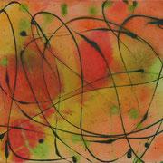 Fantasy, Acryl auf Leinwand, 50 x 40