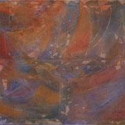 Empathie II, Mischtechnik auf Leinwand, 100 x 80
