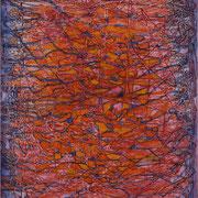Explosion II, Mischtechnik auf Leinwand, 100 x 120