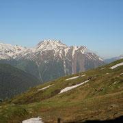 Blick Richtung Breithorn