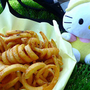 CURLY FRIES - Photo credit: camknows - Flickr.com/photos/camknows/4808529731 CC