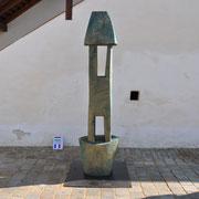 János Kalmár, Intervallum - Der Weg, Holz