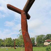 """Harald Herkner, """"What four"""", 2012, Stahl"""