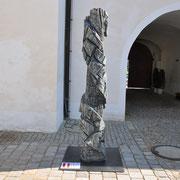 Elisabeth Ledersberger- Lehoczky, Nach oben offen, Holz