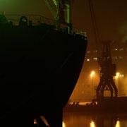 Hafen A - Oktober 2008 - FEDERAL HUNTER  Länge: 200m; Breite: 24m