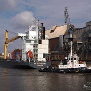 Holz- und Fabrikenhafen April 2010 - BBC OSTFRIESLAND Länge: 153m; Breite: 24m