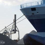 Kohlenhafen - Mai 2009 - AURORA (Auflieger) Länge: 134m; Breite: 22m
