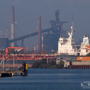 Stahlwerke Bremen - Oktober 2008 - EURO SWAN Länge: 139m; Breite: 23m