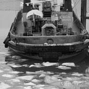 Seehausen - Februar 2012 - Die ARION bei Eiseskälte