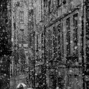 SNOW IN THE CITY - ICH LIEBE SCHNEE!  http://www.hippolyteartwork.com/site.htm