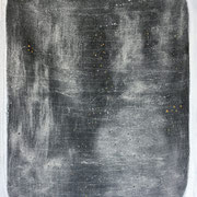 The Beautiful Healing Tree , acrylic, resin on canvas, 116 x 81 cm