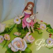"""торт """"Фея розового куста"""". 3кг"""