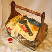 """Торт """"Ящик мастерового"""""""