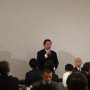 来賓挨拶:小野正人琴平町長