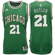 Баскетбольная майка Чикаго Булс №21 Батлер Джимми SWINGMAN REV30