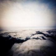 Étretat, 2017-07, Zone plate argentique, 30 cm x 30 cm, tirage impression Hahnemühle - William Turner - 1/5 - © Annick Maroussy
