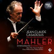 G. Mahler: 2nd Symphony, Czech Philharmonic Choir Brno, Orchestre National de Lille, Olena Tokar, Jean-Claude Casadesus  (2016)