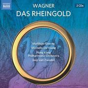 Wagner: Das Rheingold (2015), Hongkong Philharmonic Orchestra, Jaap van Zweden, Label: Naxos