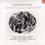 G. F. Händel: Judas Maccabäus (ORF) Wiener Singakademie, Barucco, Heinz Ferlesch (2006)