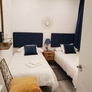 dormitorio ,2reforma piso San Sebastián