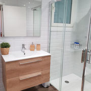 baño 1, reforma piso San Sebastián